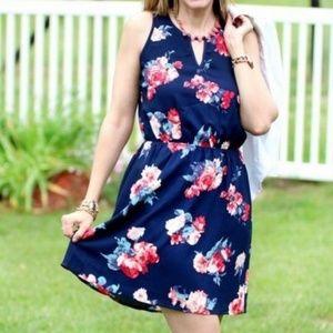NWT Market & Spruce Floral Dress Size L